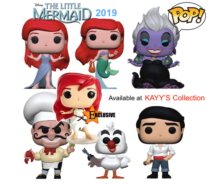 Funko Pop new 2019 Little Mermaid Ariel & Ursula KAYY'S Collection St Laurent, Montreal H4R 1Y8