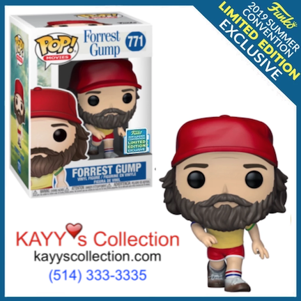 Funko Pop new 2019 Forrest Gump Exclusive Exclusive KAYY'S Collection St Laurent, Montreal H4R 1Y8