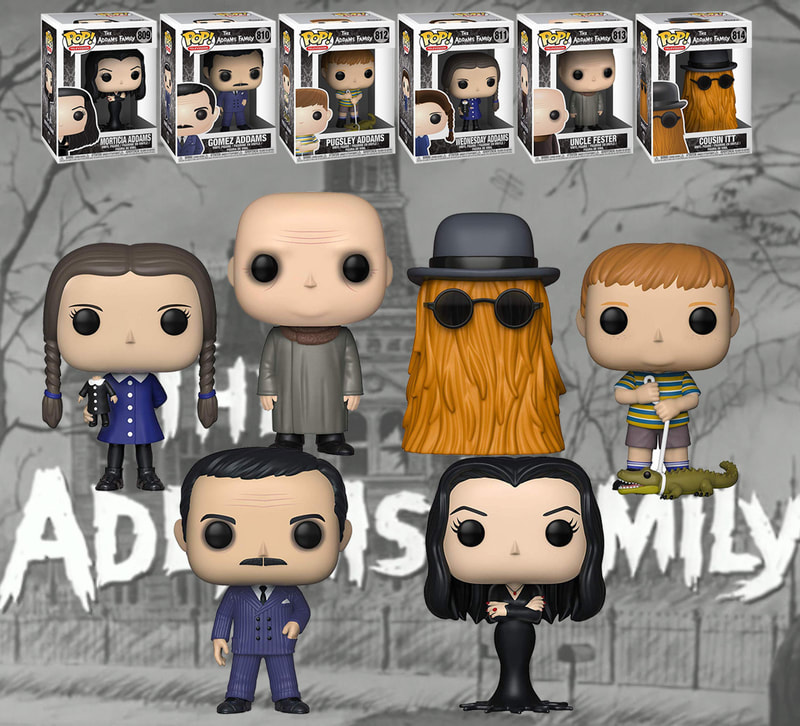 Funko Pop ADDAMS FAMILY available at KAYY'S Collection Montreal H4R 1Y8