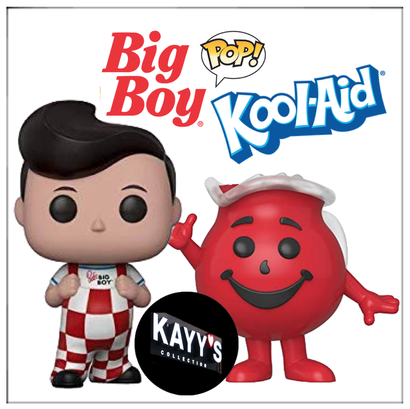 Funko Pop new 2019 Big Boy + Kool-Aid KFC  Green Giant icons KAYY's Collection St Laurent Montreal H4R 1Y8