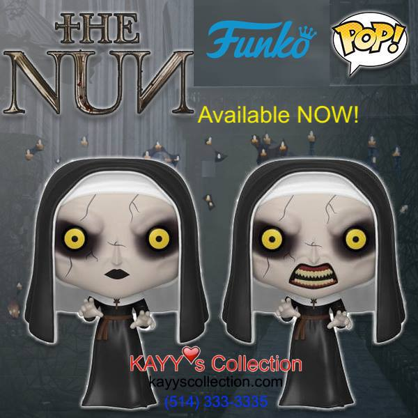 Funko Pop! NEW Arrival NUNS. Available at Kayy's Collection, St Laurent, Montreal