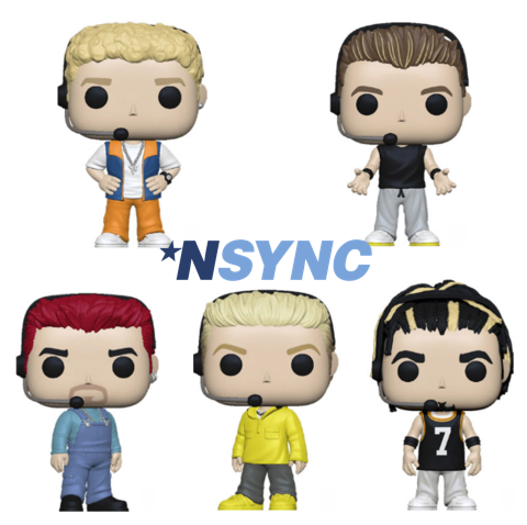 Funko Pop! Music Rocks NSYNC Justin Timberlake  KAYY'S Collection Montreal