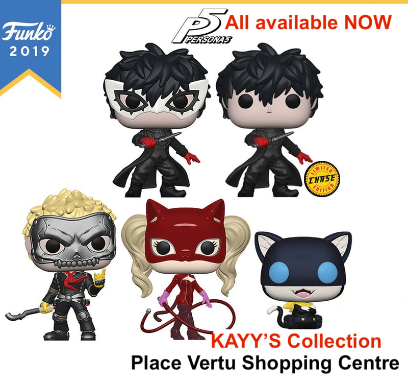 Funko pop PERSONA 5 JOKER MONA PANTHER SKULL  available at KAYY'S Collection Montreal