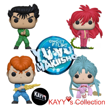 Funko Pop new 2019 anime yu yu hakusho KAYY's Collection St Laurent Montreal H4R 1Y8